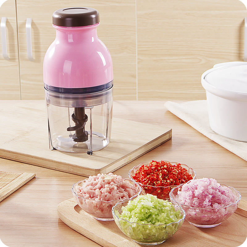 Multi function Baby Food Electric Meat Grinder Cooking Machine Small Crushed multi function electric stainless steel household commercial food meat grinder 220v
