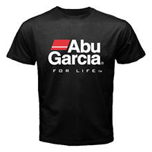 New FALCON Graphite Rods Abu Garcia Daiwa PFLUEGER Fishing Tool Reel T-shirt Male Harajuku Top Fitness Brand Clothing(China)