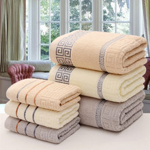 100% cotton thickened absorbent soft skin-friendly antibacterial large bath towel adult love hotel shower cool bath beach towel