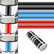 183 x 8CM PVC Material Stripe Pattern Creative Funny Car Sticker Accessories for Cars Hood car pattern pvc protective sticker set for xbox one green deep blue