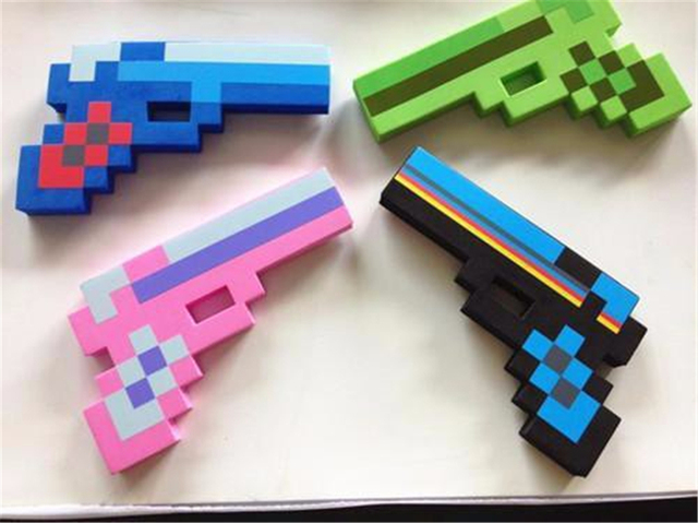 minecraft diamond gun