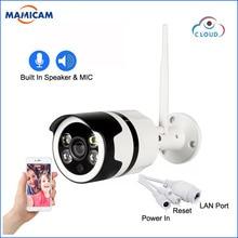 цена на HD 1080P CCTV Camera 720P Wifi Camera Security Surveillance Two Way Audio Color Night Vision Outdoor Bullet Camera Indoor