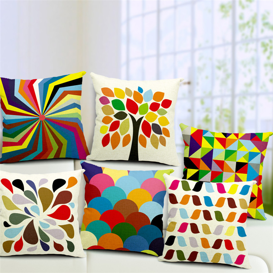 Cotton Pillowcase And Cushion Cover