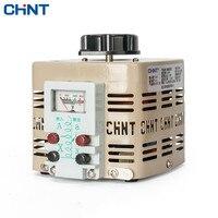 CHINT Voltage Regulator Adjustable Transformer 500w 220v Single phase 0v 250v TDGC2 0.5KVA