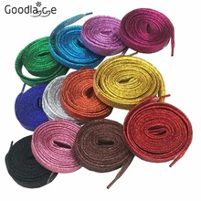 100 Pairs of Metallic Glitter Shoelaces Bling Shoe Laces for Sneaker Sport Shoes 115cm/45