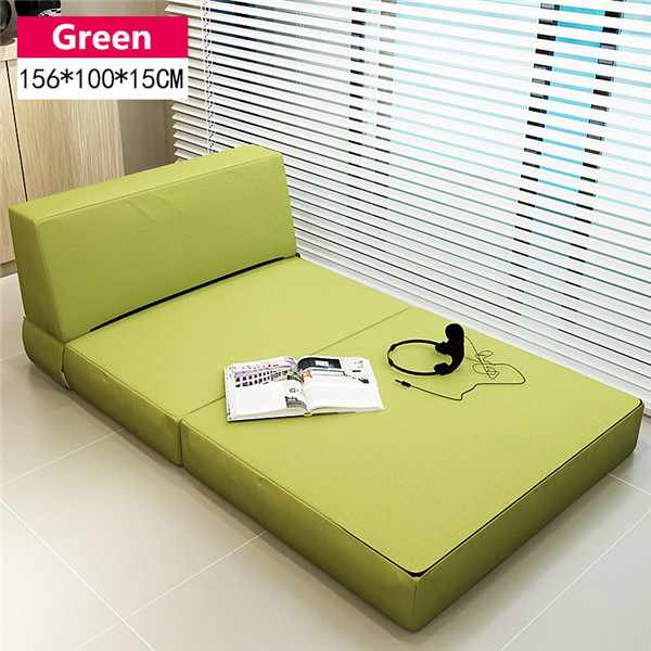Folding Mattress And Sofa Bed With Removable Cover Bedroom Furniture Sleeping Futon Japanese Style Floor