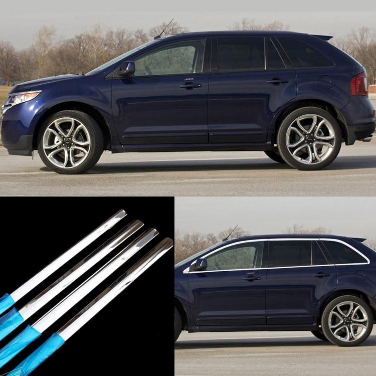 16pcs Stainless Steel Chrome Full Window Frame Sill Trim For Chevrolet Captiva