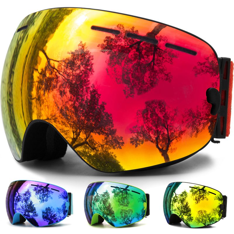 b4f98be98bf ... Interchangeable Spherical Dual Lens for Men Women   Youth Snowmobile  Skiing SkatingJULI Ski Goggles