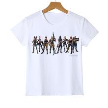 새로운 도착 만화 게임 아이 티셔츠 Fortnite 3d 프린트 소년 / 소녀 티셔츠 패션 맞춤 그래픽 티셔츠 티셔츠 Y9-1