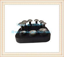цены High Quality Jewelry Making Tools Doming Block Dapping Punch Set 6pcs