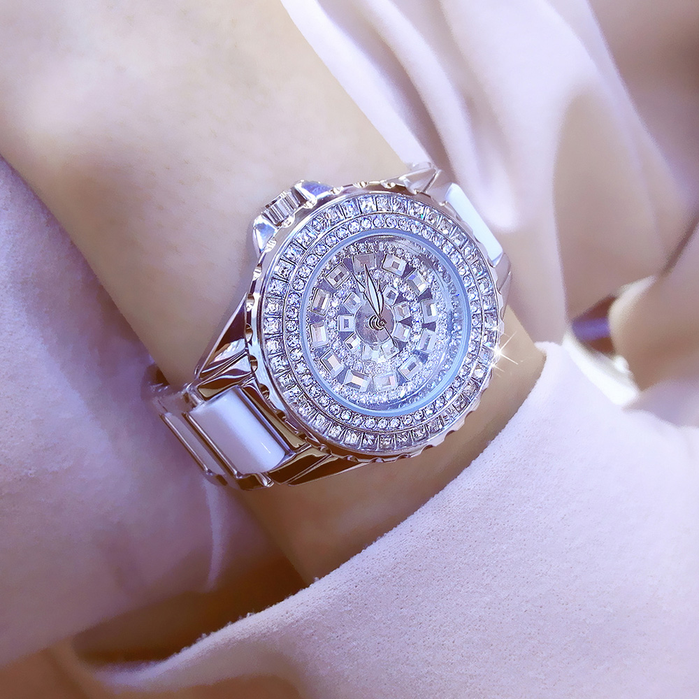 Women Watches Luxury 2017 Diamond Famous Brand Elegant Dress Watches Ladies Wristwatch Relogios Femininos saat Female Clock Hour