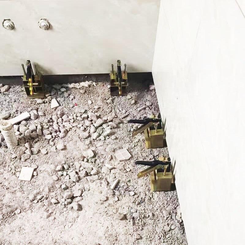 Ferramentas de Construção Sistema de Nivelamento Parede Altura Ajustadores Telha Titular 10mm-70mm Ajustável Auxiliar Ferramentas