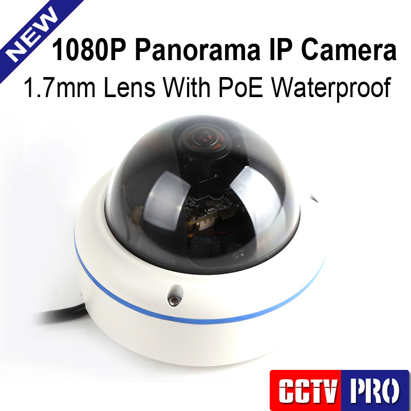 2.0MP 1080P Panorama POE CCTV IP Camera Outdoor With 180/360 Degrees Full View Fisheye Cameras Support Onvif P2P Cloud View 1 to 4 video cutting panorama ir ip camera poe 3mp 360 degrees view fisheye cctv camera support onvif p2p cloud ie view