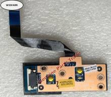 Оригинальная панель Power Media Button для Lenovo Y580 Y480 Y485 Series QIWY3 LS-8001P протестирована ОК