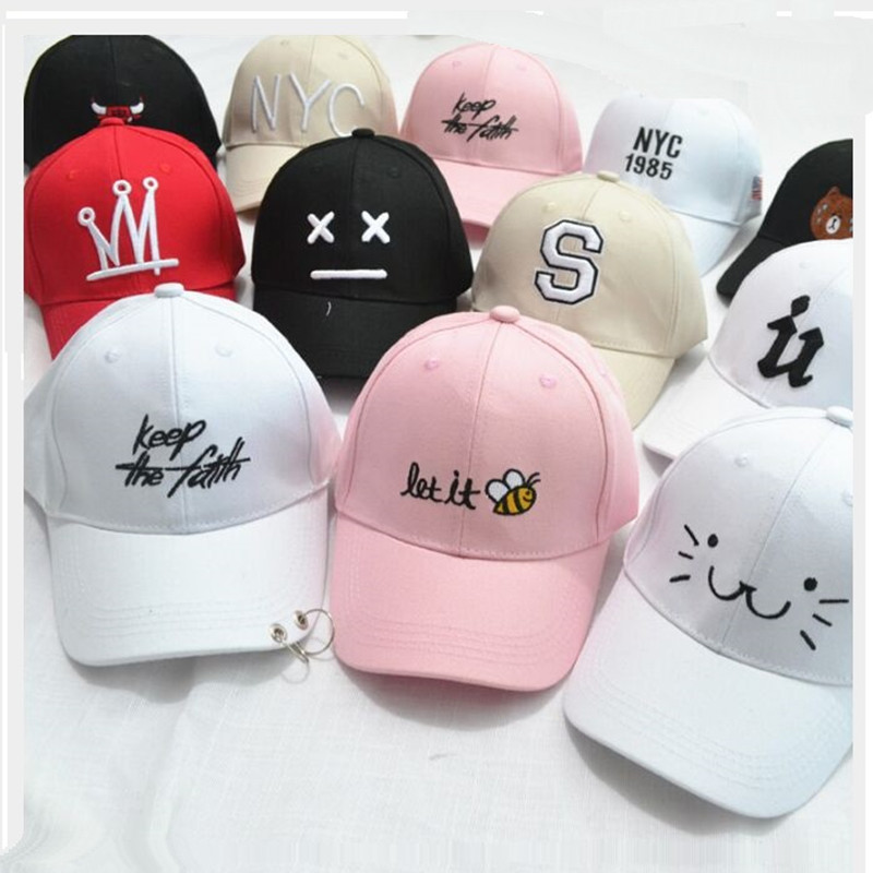 KDBS002 New Kids Casual Adjustable Cotton   Baseball     Cap   Children Boy Girls Fitted Embroidery Snapback Hats Casquette Gorras