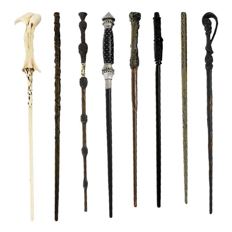 Metal/Iron Core Magic Wand Dumbledore Hermione Voldemort Cosplay Magical Wand Elegant Gift With Box 2style cosplay albus dumbledore play magical magic wand gift in box metal core harry potter magical wand