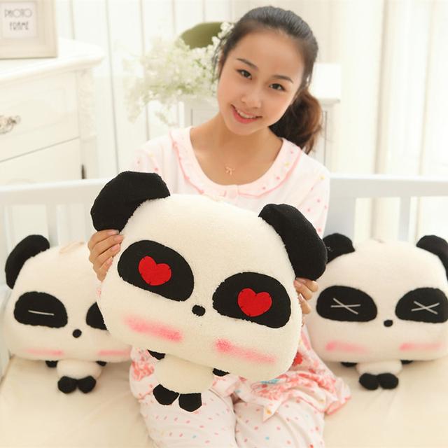 1/Pcs 33 cm Cute Panda Panda de Peluche de Juguete Muñeca 2016 de Alta Calidad, Juguetes de peluche Animales Para Niños O Como Regalos de San Valentín Para Las Niñas