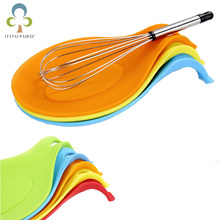 Coaster-Tray Spoon-Pad Kitchen-Accessories Heat-Resistant Silicone 1pcs Placemat Insulation-Mat