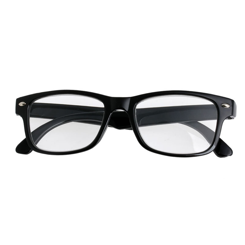 Classic Black Frame Retro Style spring Reading Glasses ...