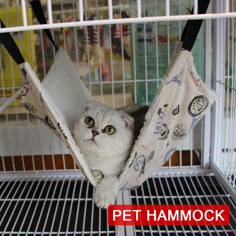 Cat Hammock Cloth Pet Blanket Soft Pet Bed 2 Colors Hobbies Durable Cot Bed Drop Shipping Pet Products