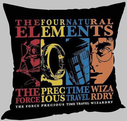 Custom Harry Potter Doctor Who Lord of the Rings Starwars Soft Square Zippered Twin Side Print Throw Pillowcase Cover Nice Gifts