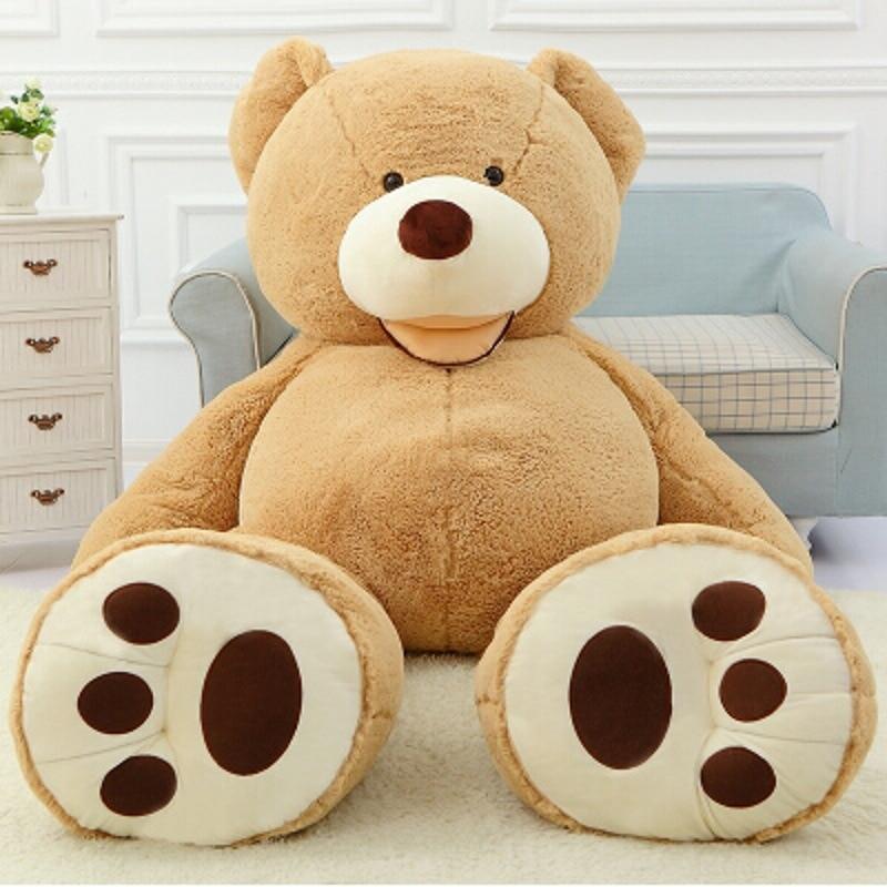 200cm Ukuran Besar USA Teddy Bear Beruang Besar Costco - Boneka dan mainan lunak - Foto 6