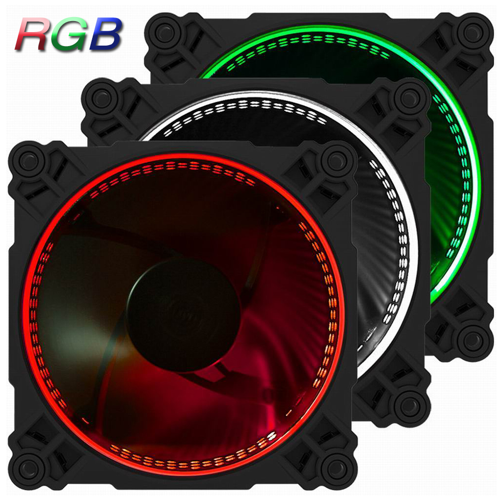 3 PCS Jonsbo 120mm FR-231 PC Case Cooler CPU Fan Radiator Cooling Fan Colorful 256 RGB LED 6PIN SATA for Intel AMD MOD Computer 1 piece jonsbo fr 201p 120mm pc case cooler cpu fan radiators computer cooling fan led light 4pin pwm for intel amd diy mod