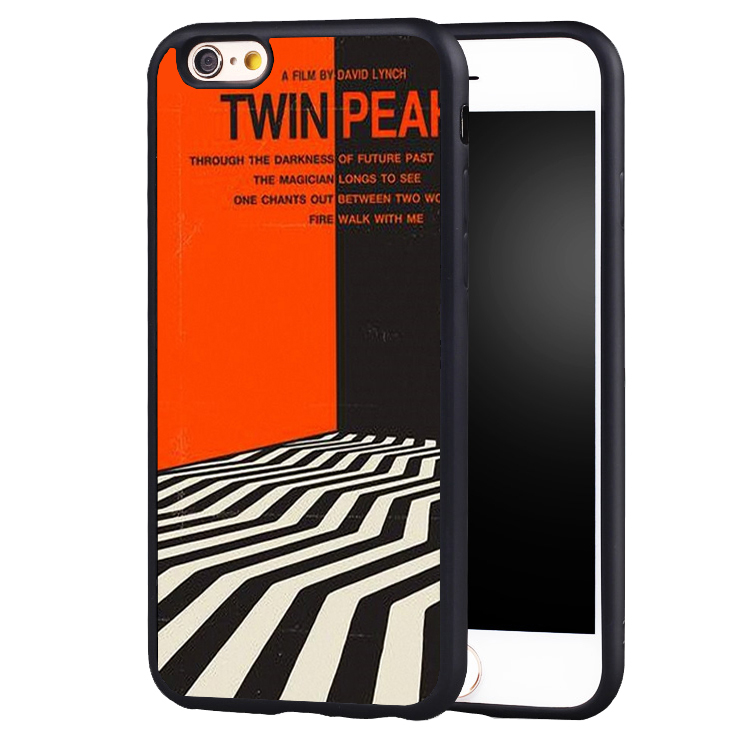 TV Series Twin Peaks Printed Soft Silicone Full Protective case Cover For iPhone X 8 7 7Plus 6 6S Plus 5 5S SE