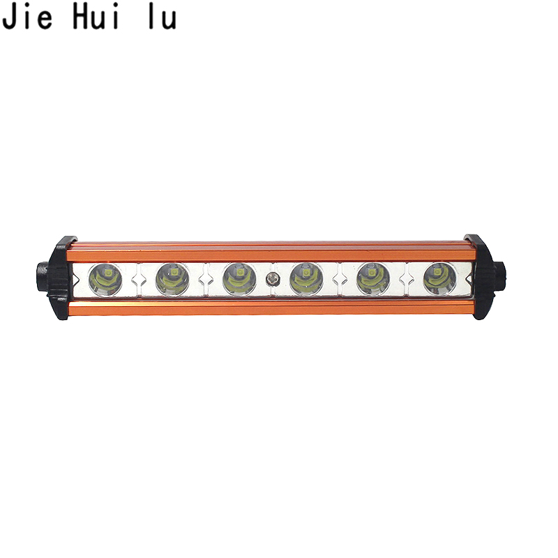 Led Beams 6 inch 18W LED Work Light Bar Spotlight Offroad Fog Lamp Vehicle 18w Work Lamp 12V Work Light Car Styling