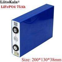 Liitokala 3.2V 75Ah battery pack LiFePO4 Lithium iron phospha Large capacity 75000mAh Motorcycle Electric Car motor batteries