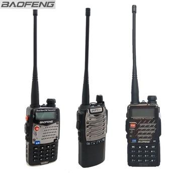 Serie Baofeng UV-5R Walkie Talkie negro UV-8D Ham Radios Amateur Radio bidireccional sin caja embalaje bajo costo para la promoción