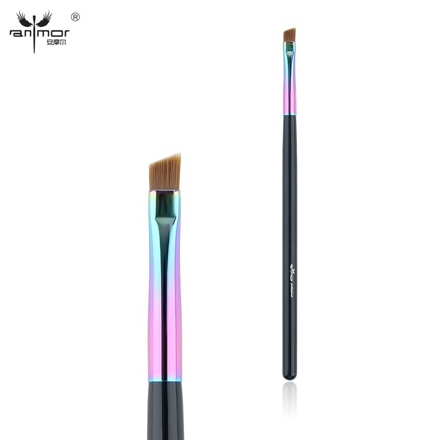 Anmor Synthetic Hair Angled Eyebrow Brush Professional Eyeliner Makeup Brushes CFCB-E06