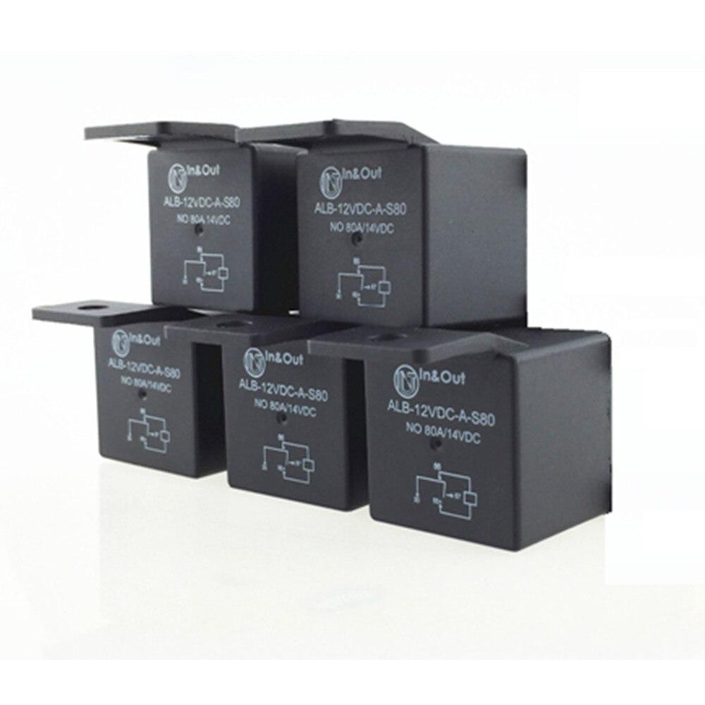 Aliexpress Com   Buy 5 Pcs 4 Pin 12v Dc 80a On Off