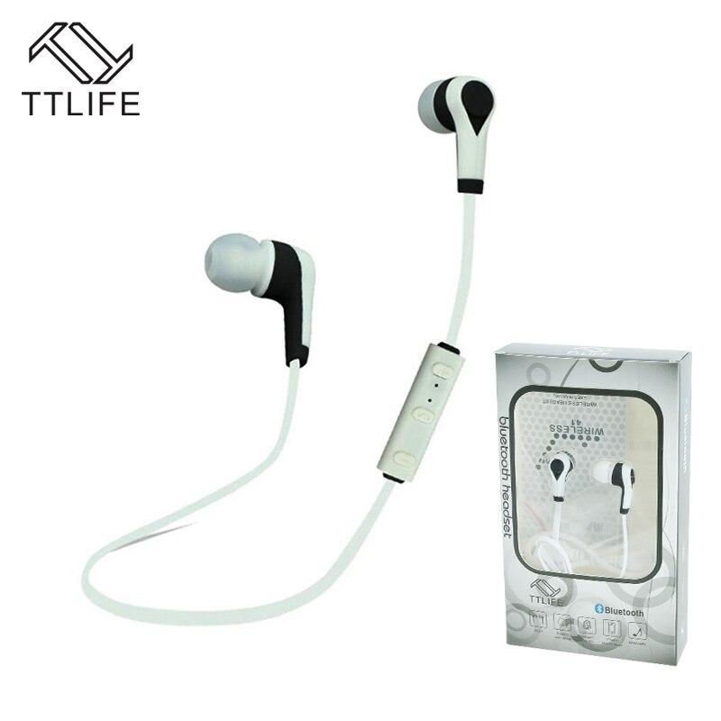 TTLIFE Bluetooth 4.0 Sport Earphone Hand Free Wireless Bluetooth Headset Earphone Sports In-ear Bluetooth Earphone for phones