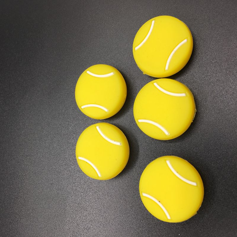 5pcs Tennis Damper Shock Absorber To Reduce Tenis Racquet Vibration Dampeners