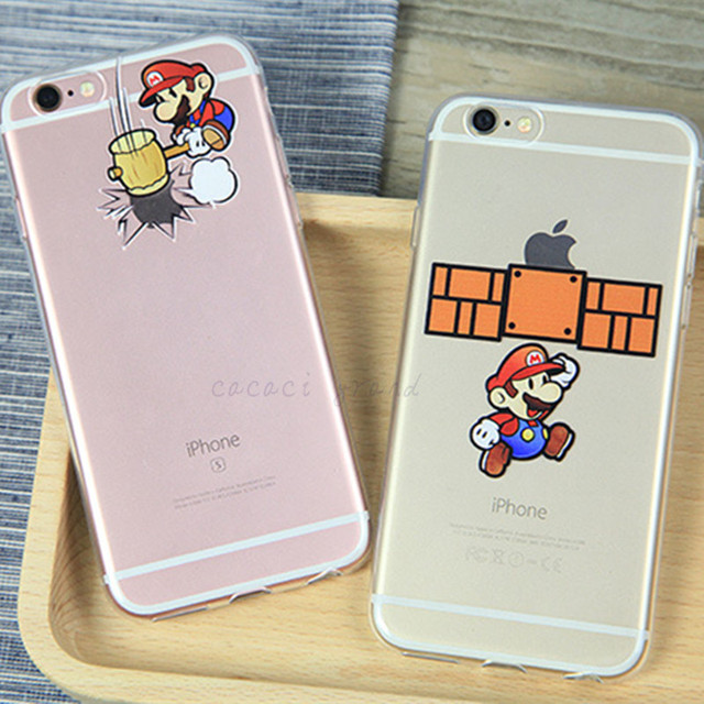 coque iphone 8 paper mario