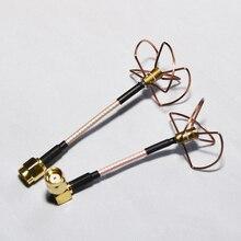 5 8Ghz 3 4 Blade Clover Leaf Antenna FPV RC Model RP SMA conenctor