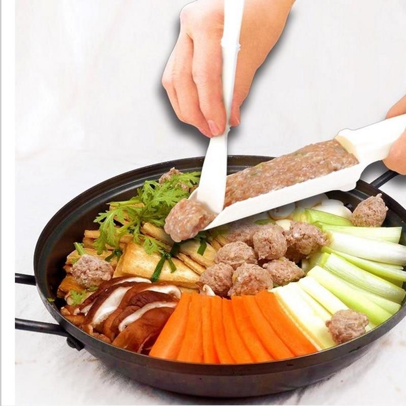 1 set Convenient Meatball Maker Stuffer Home Kitchen Cooking ToolS Useful Pattie Meatball Fishball Burger Set