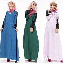 2016 Muslim Abaya Dress Islamic Clothes Kaftan Jilbabs and Abayas Muslim Hijab One-Piece Dress JZ2434