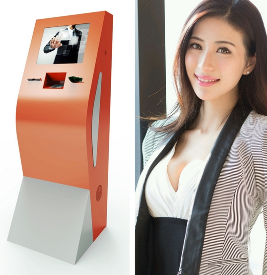 17 Inch Self Service Restaurant Payment Kiosk Terminal Medical Self-service Charging Buffet Dining Buffet Payment Terminal Kiosk