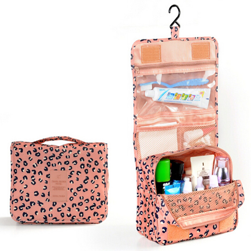 Polyester Printing Necessaire Women S Cosmetic Bag Ladies