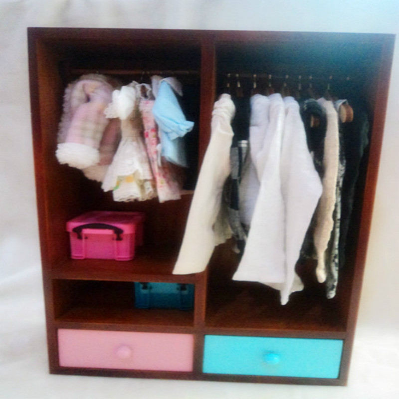 1/6 1/4 BJD props doll wardrobe BJD.SD Doll - yosd lati Blyth MMK locker uncle 1 3 1 4 1 6 doll accessories for bjd sd bjd eyelashes for doll 1 pair tx 03