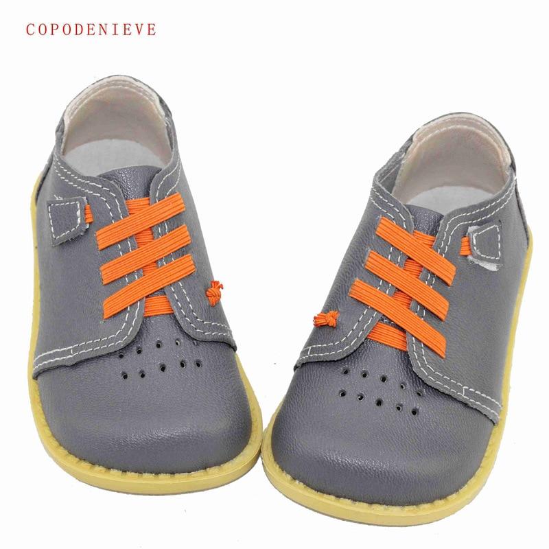 Copodenieve из натуральной кожи Обувь для мальчиков кожаные ботинки мальчик на плоской подошве обувь для девочек кроссовки детские ботинки nmdgenuine leathe