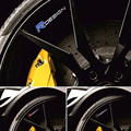4 pcs/1 conjunto design R logo emblema do carro porta janela decal azul etiqueta de controle central adesivos para volvo xc60 s60 v60 v40 S80