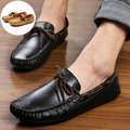 High Quality Summer Style Men Loafers Shoes Genuine Leather Fashion Casual Flats Shoes Breathable Driving Shoe New