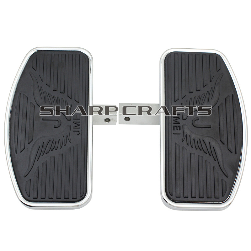 Motorcycle For Honda Magna VF750 VF 750 Front Rider Driver Floorboards Footboard Footpegs Eagle Pattern pedals