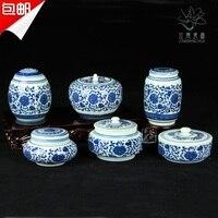 wedding decoration Antique Jingdezhen Ceramic Vase Chinese Pierced Vase Wedding Gifts Home Handicraft Furnishing Articles