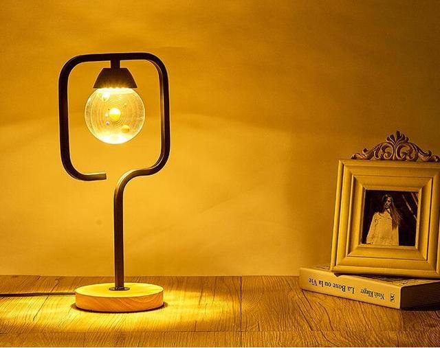 Lamp Slaapkamer Nachtkastje : Slaapkamer nachtkastje solar crystal tafellamp eenvoudige moderne