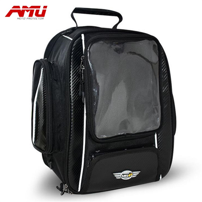 Authentic AMU Motorcycle Tank Bag Backpacker Trolley Tail