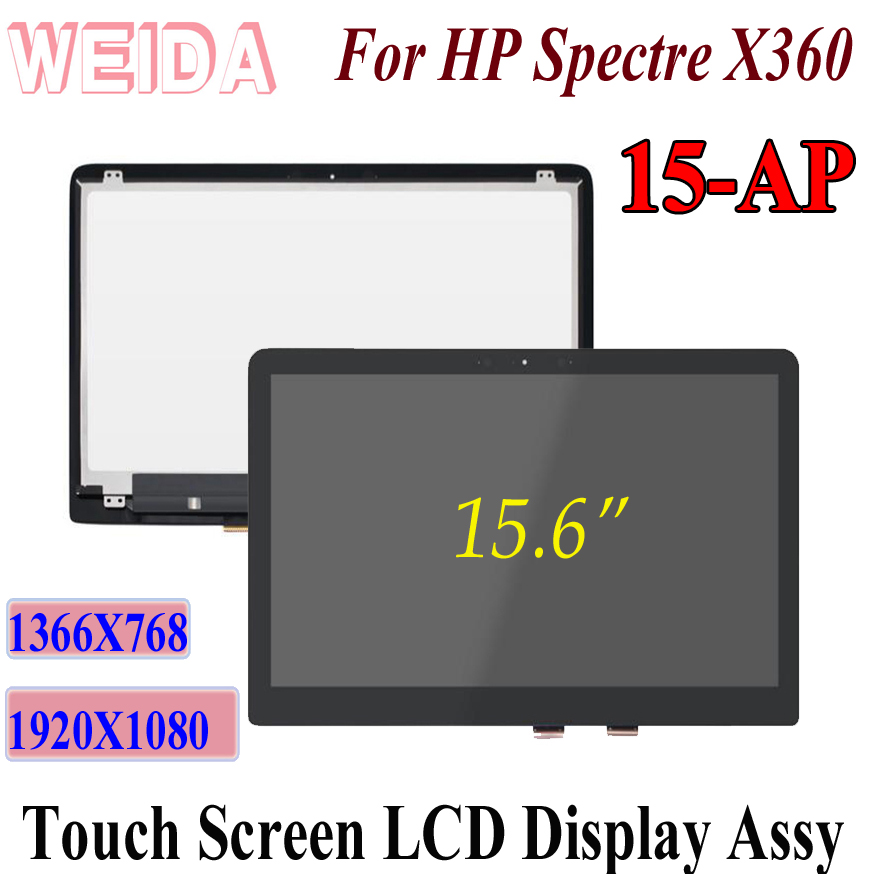 WEIDA LCD Touch Replacement For HP Spectre X360 15 AP 15-AP 15.6